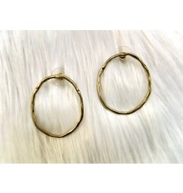 KNC CAT Circle Stud Earring