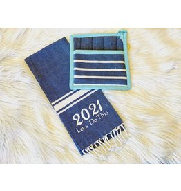 """2021 Towel """"Let's Do This"""""""
