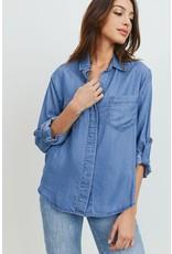 The Ritzy Gypsy MAGUIRE Basic Denim Shirt