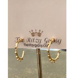 The Ritzy Gypsy BUG Mini Hoop Earring