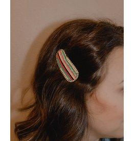 AVA Beaded Hair Clip
