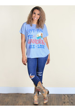Southern Grace WANDERER Graphic Tunic/Tee