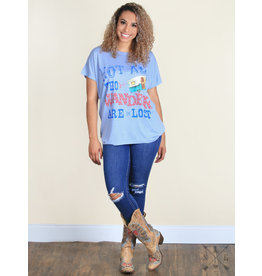 The Ritzy Gypsy WANDERER Graphic Tunic/Tee