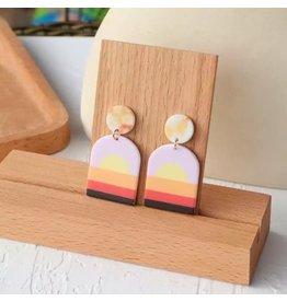 SUNSET Acrylic Earrings