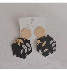 The Ritzy Gypsy SPRING Dangle Acrylic  Earrings