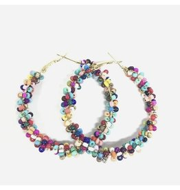 GRACIE Colorful Beaded Earrings