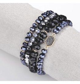 The Ritzy Gypsy MOONSTRUCK Bracelet Set