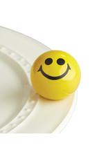 Nora Fleming ALL SMILES Mini (Yellow Smiley Face)