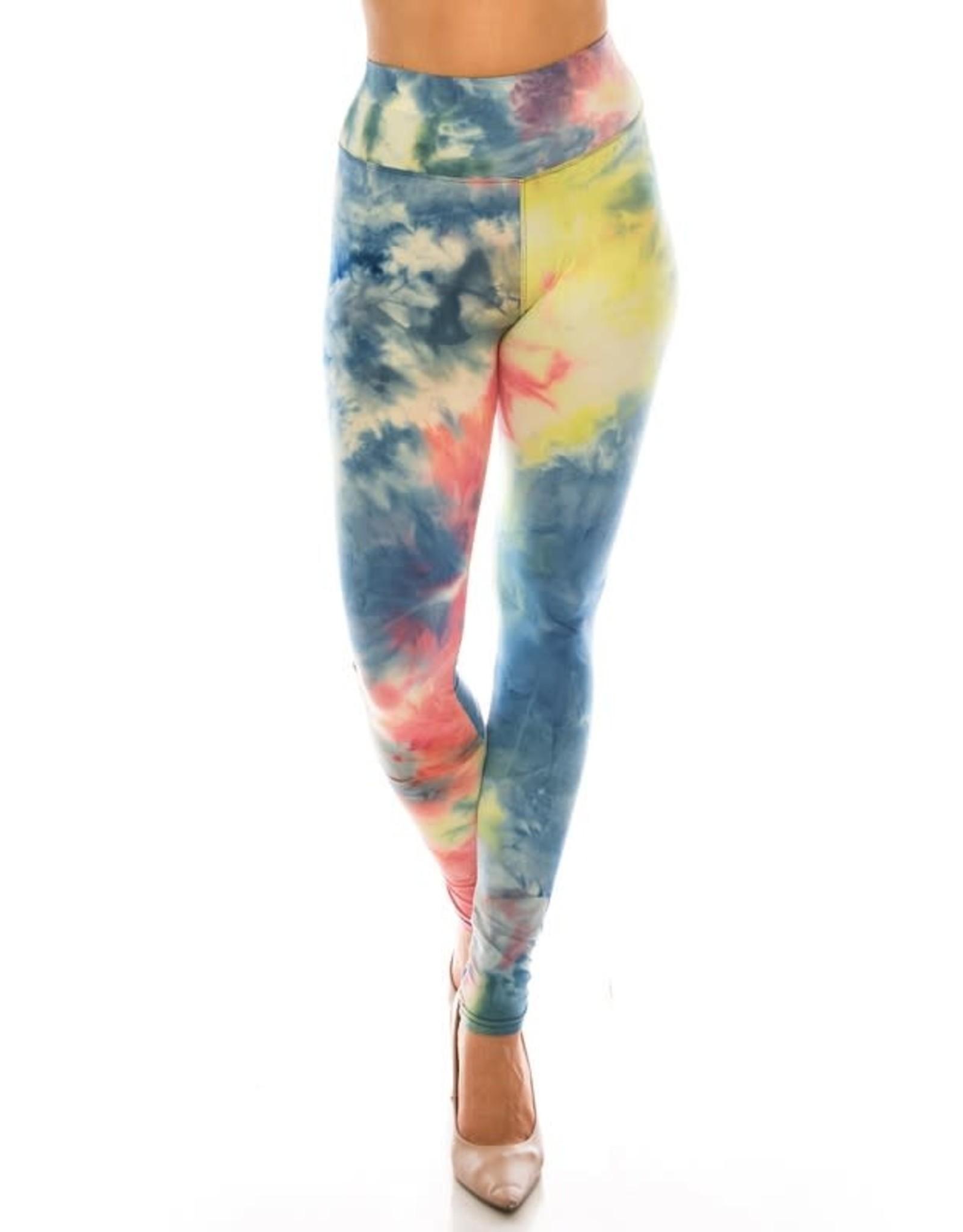 Color5 BURST Tie Dye Leggings