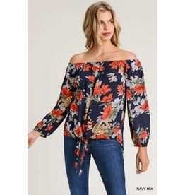 The Ritzy Gypsy PEPPER Off The Shoulder top