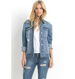 The Ritzy Gypsy ESSENTIALS Over Sized Jean Jacket