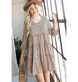 Jade by Jane MIA Leopard Smock Dress