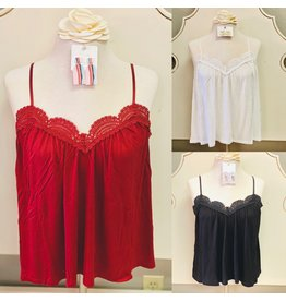 The Ritzy Gypsy AVERY Lace Tank Top