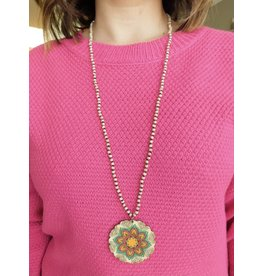 ALLIANCE Pendant Beaded Necklace