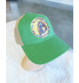4B Custom Designs SERAPE BUFFALO Trucker Hat
