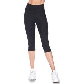 2NE1 Apparrel High Waisted Capri Scrunch Butt Leggings