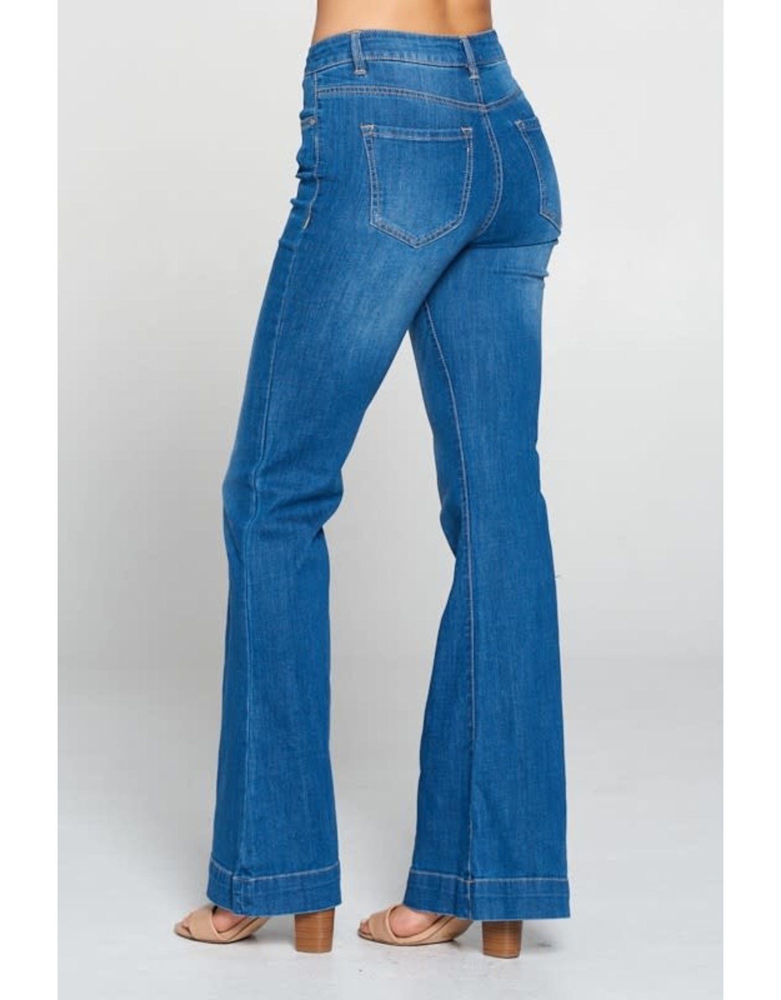 The Ritzy Gypsy BRISTOW High Wasited Gentle Flare Jeans
