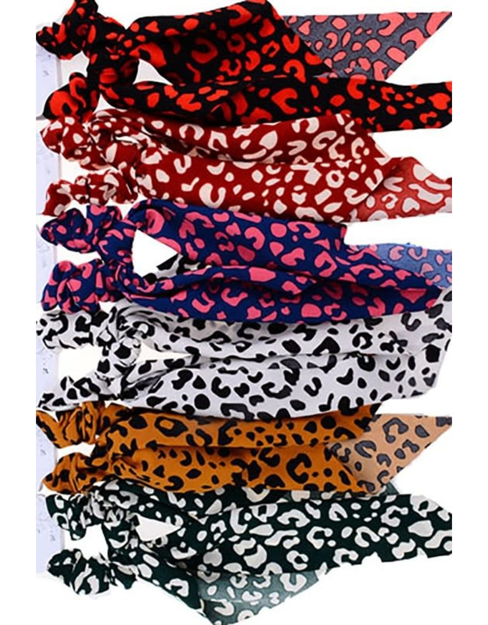 The Ritzy Gypsy FRESH Leopard Hair Ties