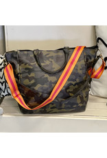 The Ritzy Gypsy CAMO QUEEN Guitar Strap Tote