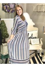 Jodifl ALICE Striped Maxi Dress
