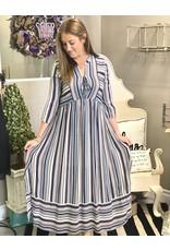 The Ritzy Gypsy ALICE Striped Maxi Dress
