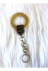 The Ritzy Gypsy INDIE Animal Print Keychain