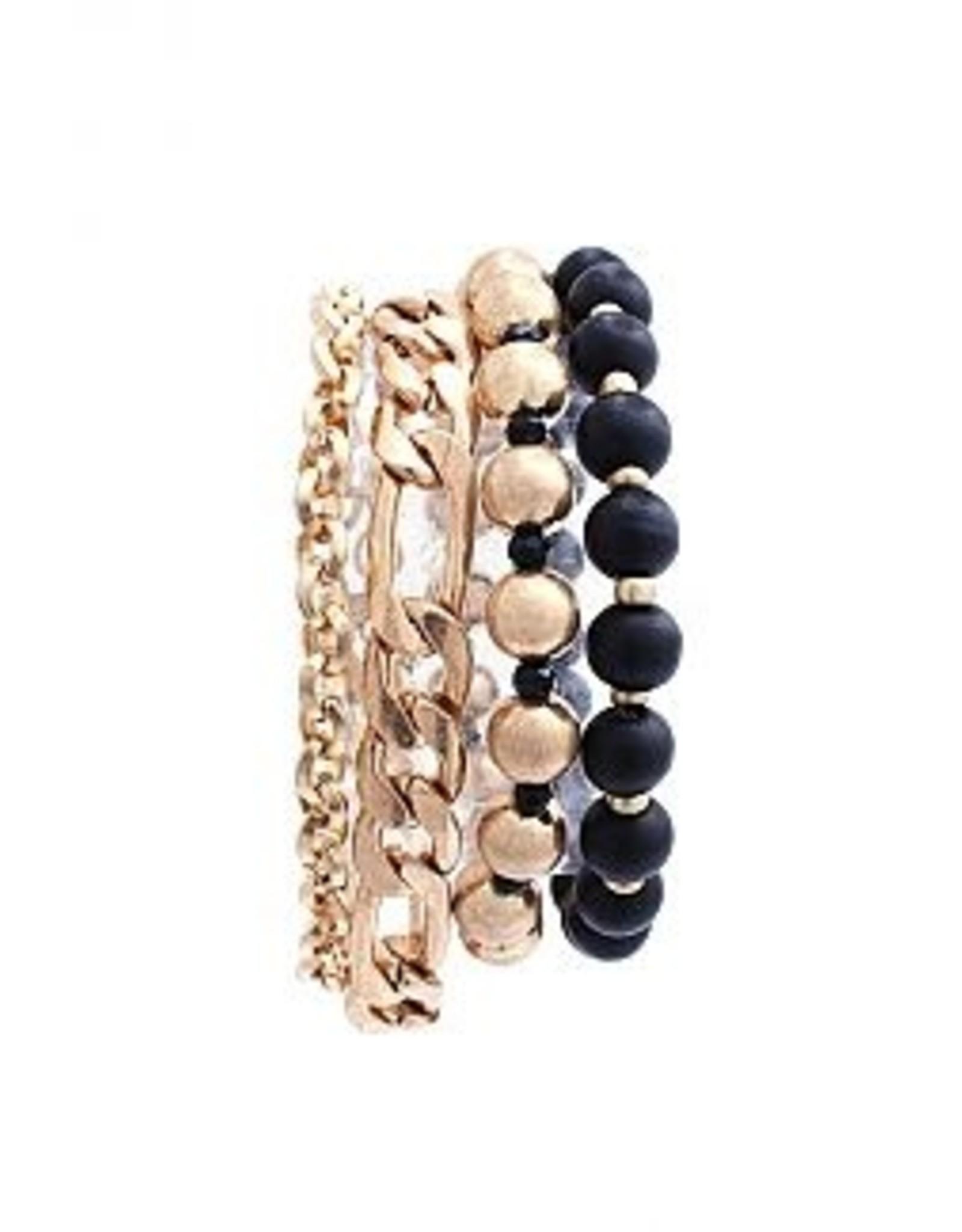The Ritzy Gypsy KNIGHT Chain Bracelet Set