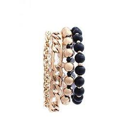 Joia Accessories KNIGHT Chain Bracelet Set