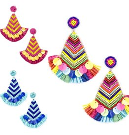 The Ritzy Gypsy KAREN Tassel Earrings