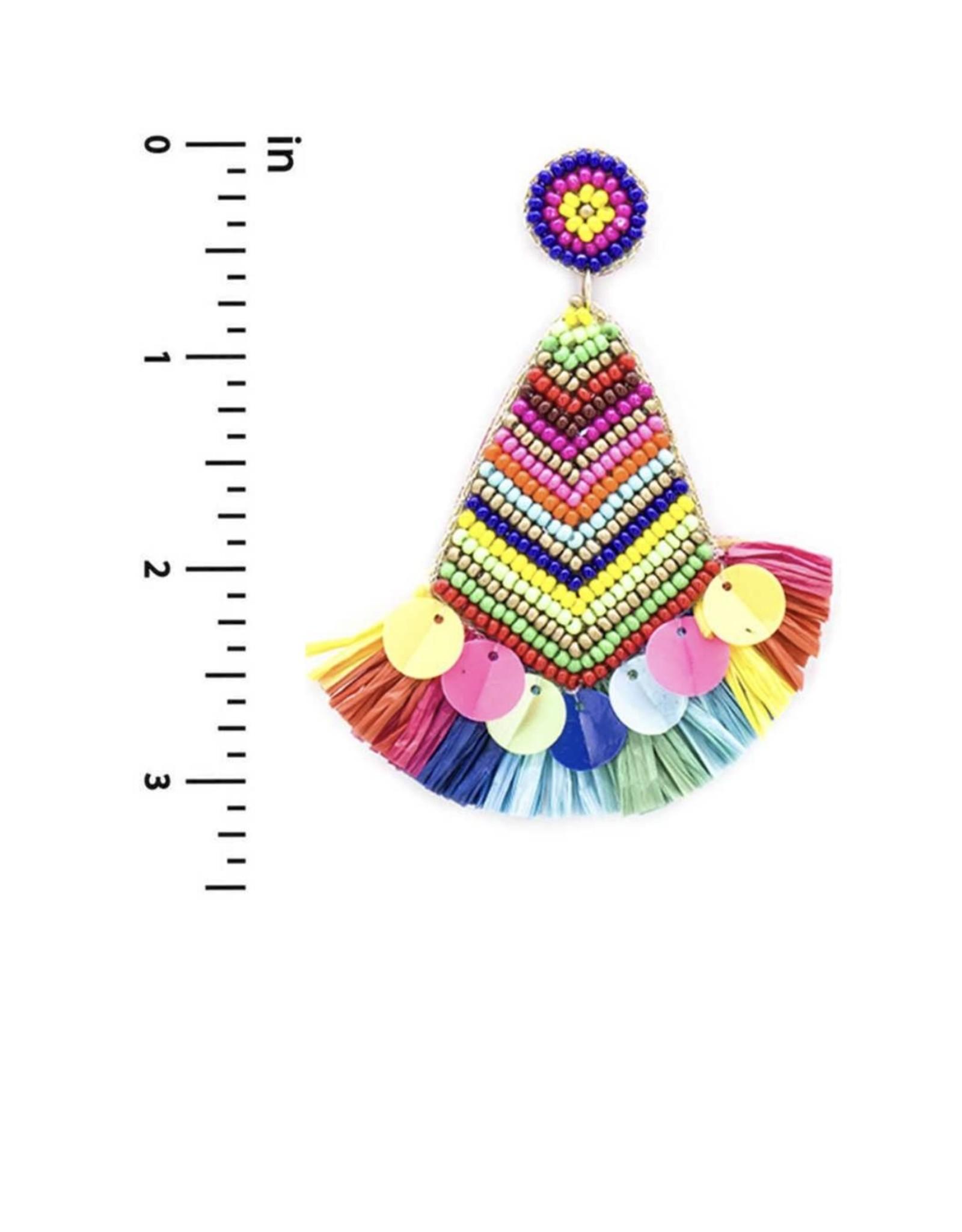 The Ritzy Gypsy KAREN Tassel Earrings
