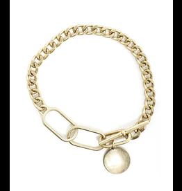 The Ritzy Gypsy SPARKS Gold Charm Bracelet