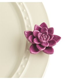 Nora Fleming GET GROWING Mini (Purple Flower)