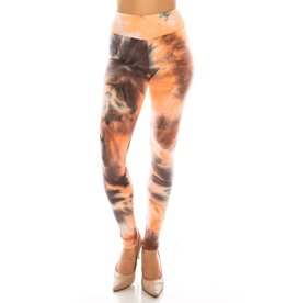 Color5 HONEYDEW Tie Dye Leggings