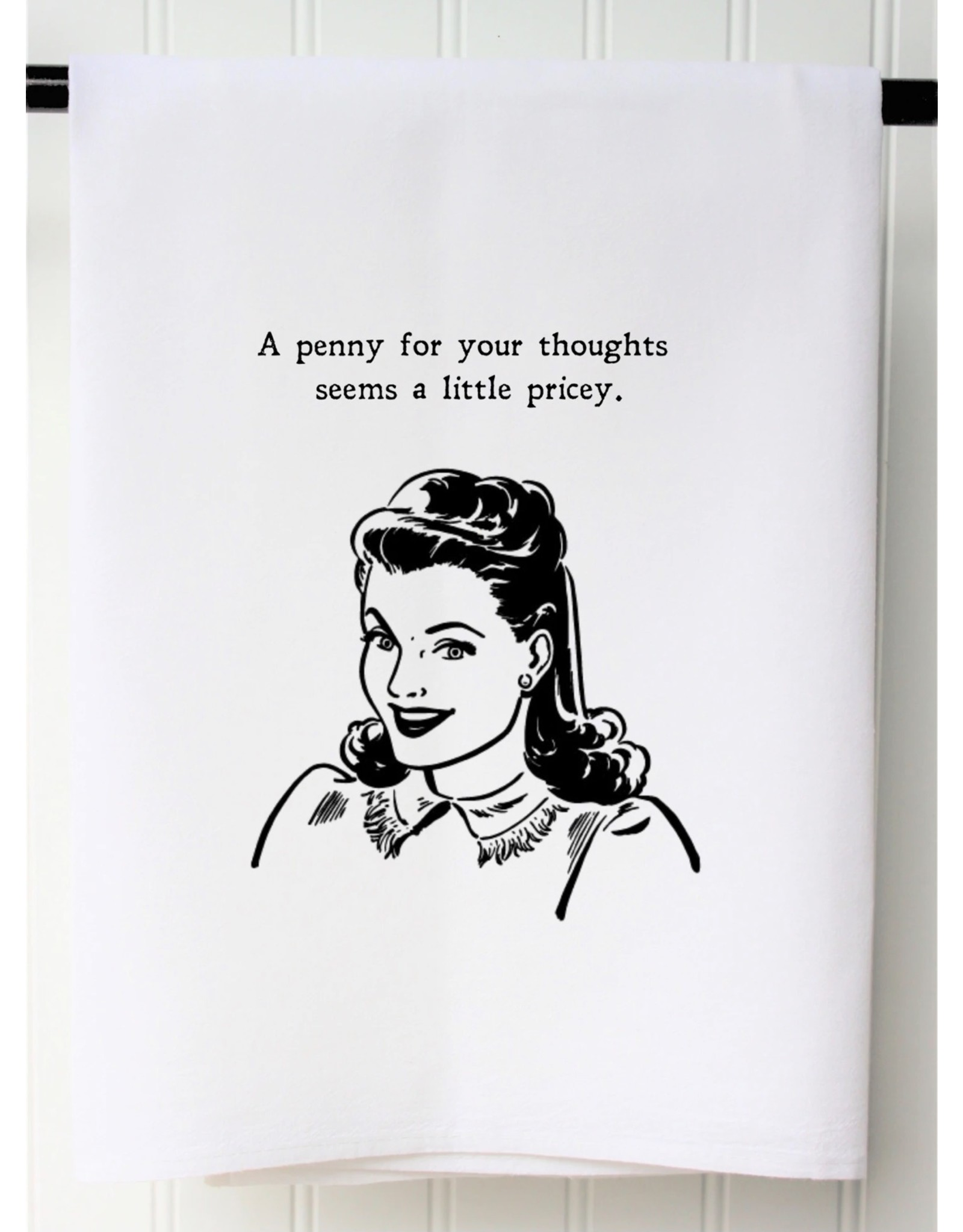 The Ritzy Gypsy A PENNY FOR THOUGHTS Towel