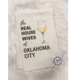 Southern Sisters Home THE REAL HOUSEWIVES COCKTAIL Hand Towel (Oklahoma City)