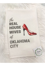 The Ritzy Gypsy THE REAL HOUSEWIVES SHOE Towel (Oklahoma City)