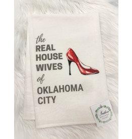 The Ritzy Gypsy THE REAL HOUSEWIVES SHOE Hand Towel (Oklahoma City)