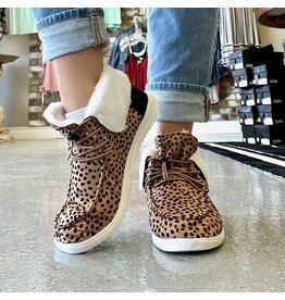 Outwoods PROWL Cheetah High Top Fur Sneaker