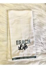 The Ritzy Gypsy BEACH LIFE Hand Towel