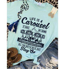 The Ritzy Gypsy CAROUSEL Graphic Tee