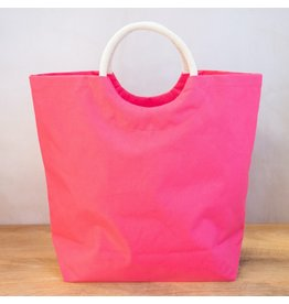 The Ritzy Gypsy VACAY Hot Pink Shore Tote
