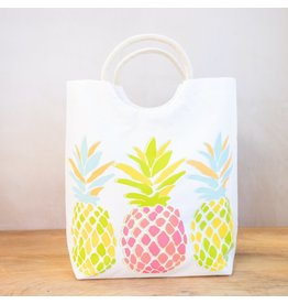 The Ritzy Gypsy PINEAPPLE Shore Tote