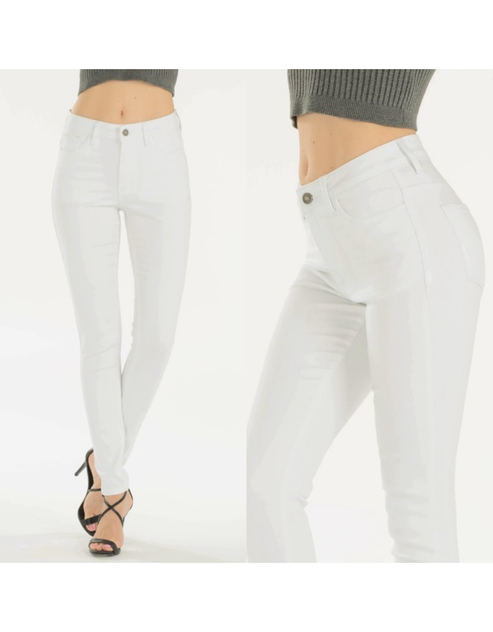 SHOW STOPPER White Jeans