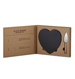 SLATE BOARD Serving Set