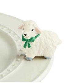 Nora Fleming I LOVE EWE! Mini (Lamb)