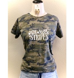 The Ritzy Gypsy STARS AND STRIPES Camo Tee (SMALL-XL)