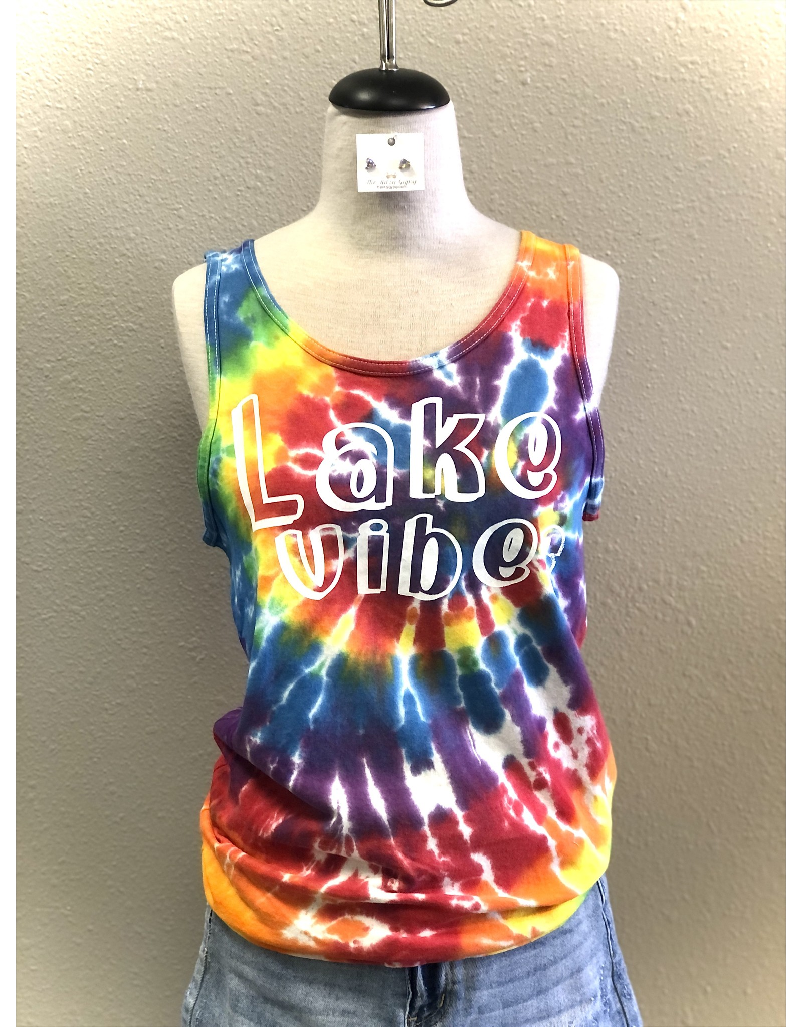 The Ritzy Gypsy LAKE VIBES Tie Dye Tee