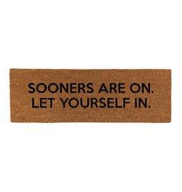SOONERS ARE ON Doormat