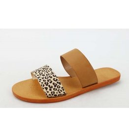 The Ritzy Gypsy MOONDANCE Leopard Slide