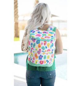 The Ritzy Gypsy RAINBOW LEOPARD Cooler Backpack